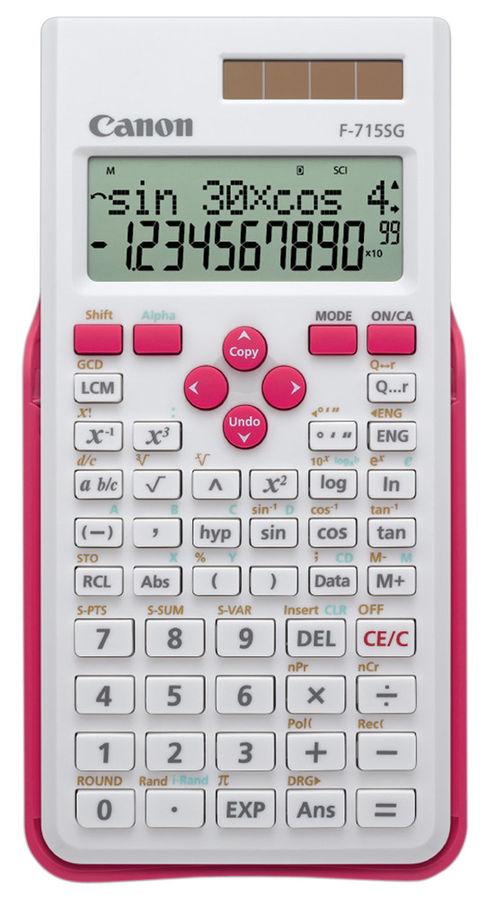 Калькулятор CANON F-715SG-WHM,  10+2-разрядный, белый
