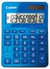 Калькулятор CANON LS-123K-MBL,  12-разрядный, синий вид 1