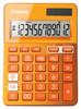 Калькулятор CANON LS-123K-MOR, оранжевый