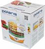 Сушилка для овощей и фруктов POLARIS PFD 0605D,  оранжевый,  5 поддонов вид 9