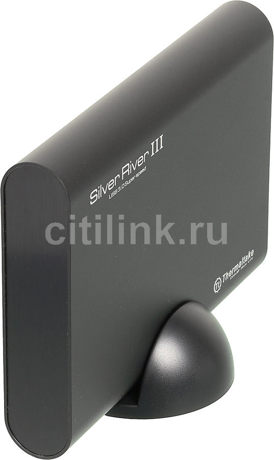 Внешний корпус для  HDD THERMALTAKE Silver River III ST002, черный