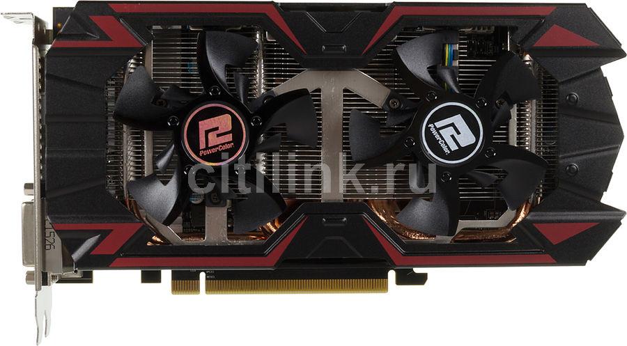 Видеокарта POWERCOLOR Radeon R9 380,  AXR9 380 4GBD5-PPDHE,  4Гб, GDDR5, Ret