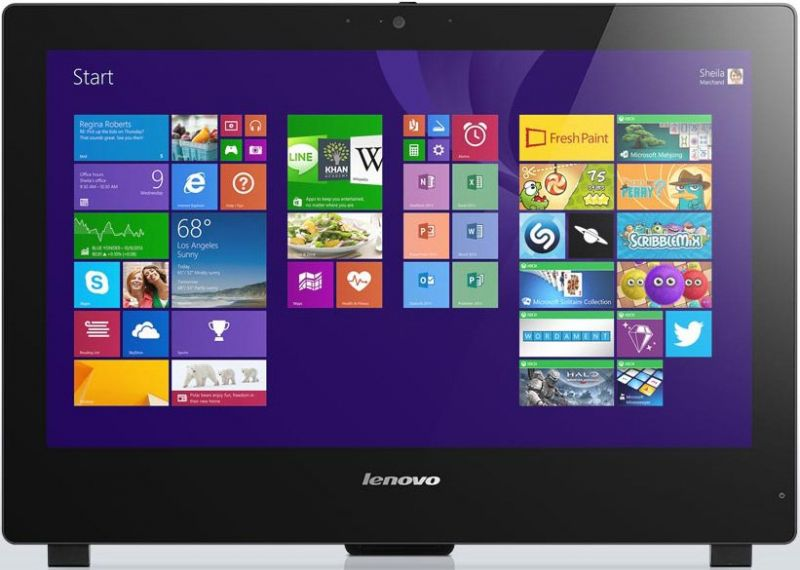 Моноблок LENOVO S50 30, Intel Core i5 5200U, 8Гб, 1000Гб, Intel GeForce 820A - 2048 Мб, DVD-RW, Windows 8.1, черный [f0ba0072rk]