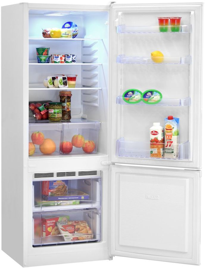 Холодильник NORD NRB 137 032,  двухкамерный,  белый