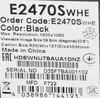 Монитор ЖК AOC Value Line E2470Swhe (/01) 23.6