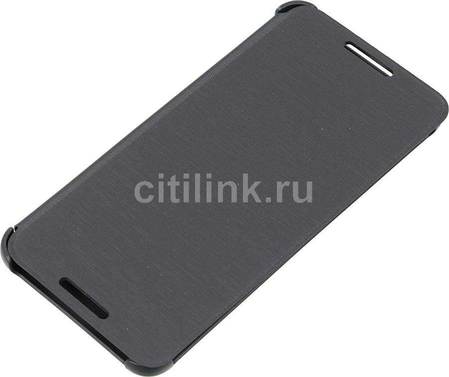Чехол (флип-кейс) HTC HC V960, для HTC Desire 610, серый [99h11462-00]