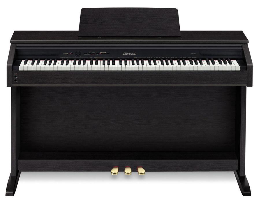 Цифровое фортепиано Casio AP-260BK черный