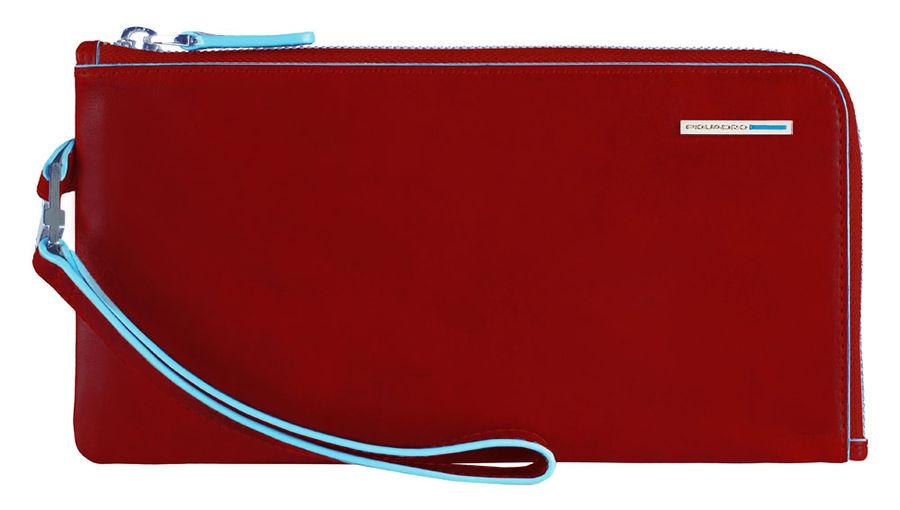 Клатч мужской Piquadro Blue Square AC2648B2/R красный натур.кожа