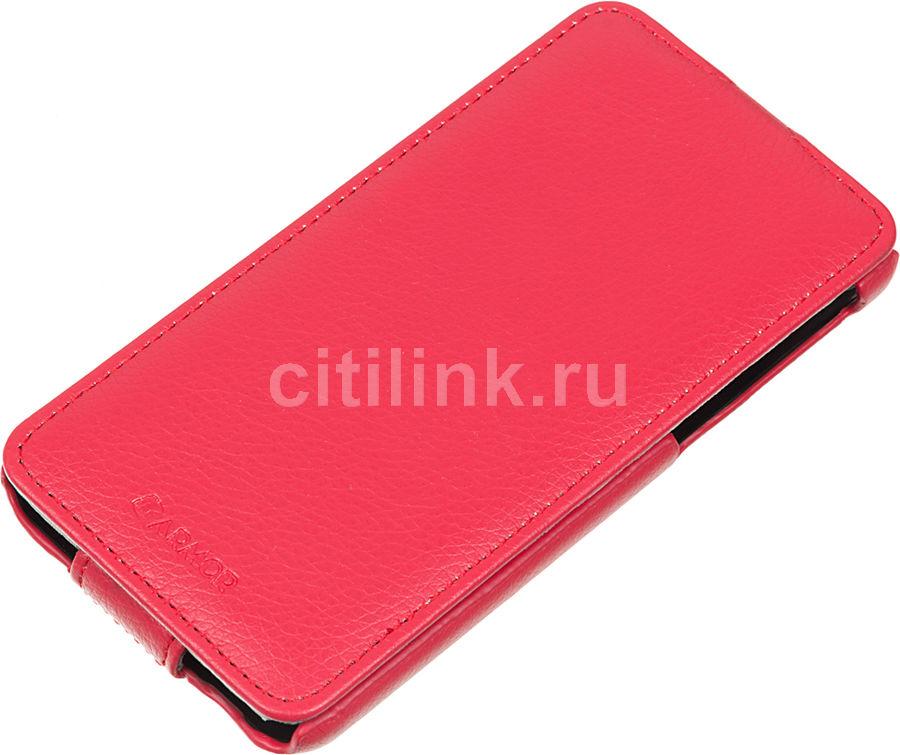 Чехол (флип-кейс) ARMOR-X flip full, для HTC Desire 820, красный