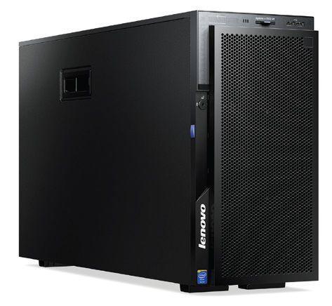 Сервер Lenovo System X x3500 M5 1xE5-2650v3 1x16Gb x8 2.5