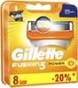 Сменные кассеты для бритья GILLETTE Fusion Power,  8шт