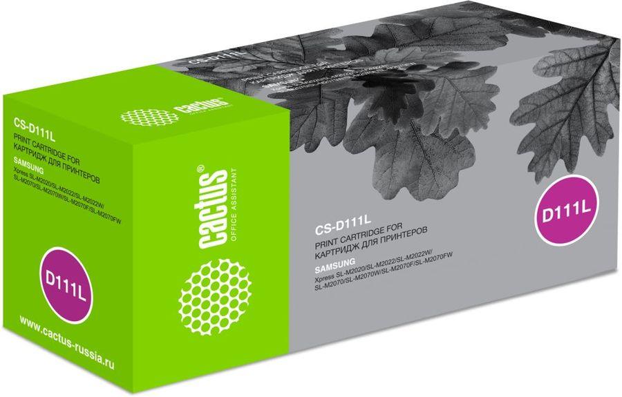 Картридж CACTUS CS-D111L черный