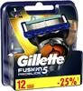 Сменные кассеты для бритья GILLETTE Fusion ProGlide,  12 шт. [81424007] вид 3