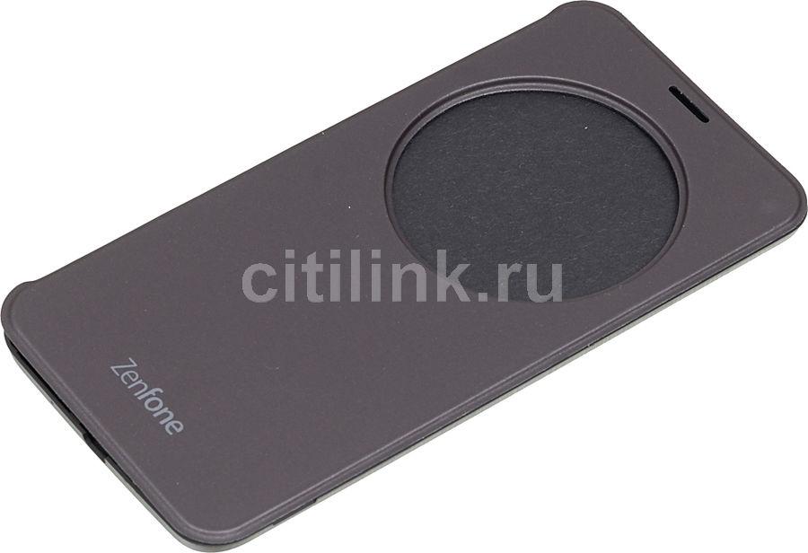 Чехол (флип-кейс) ASUS для Asus ZenFone ZE551ML, серый [90ac00f0-bcv038]