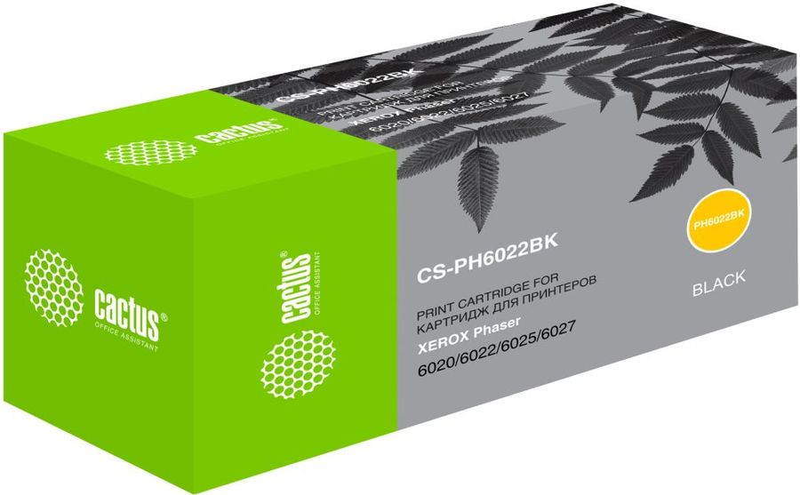 Картридж CACTUS CS-PH6022BK черный