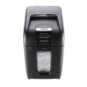 Уничтожитель бумаг REXEL Auto+ 300X,  P-4,  4х40 мм [2103250eu]
