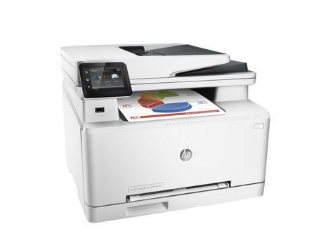 МФУ лазерный HP Color LaserJet Pro M274n,  A4,  цветной,  лазерный,  белый [m6d61a]