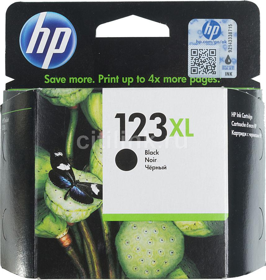 Картридж HP 123XL черный [f6v19ae]