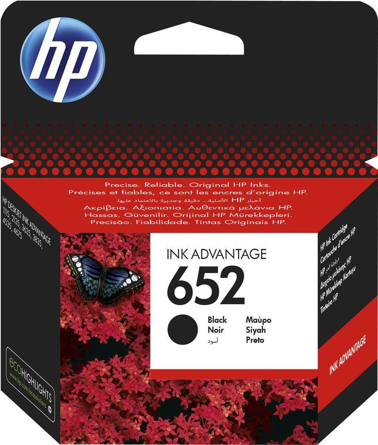 Картридж HP 652 черный [f6v25ae]