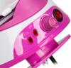 Паровая станция ENDEVER Skysteam-732,  белый / розовый вид 4