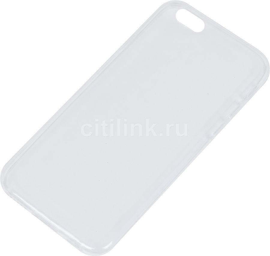 Чехол (клип-кейс) REDLINE iBox Crystal, для Apple iPhone 6/6S, прозрачный [ут000007225]
