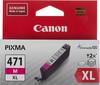 Картридж CANON CLI-471XLM пурпурный [0348c001] вид 1