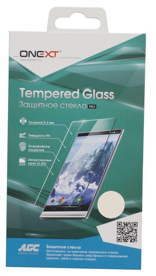 Защитное стекло для экрана ONEXT для HTC One M9,  1 шт [40915]