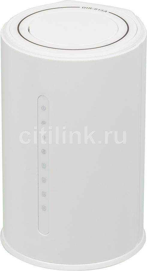 Беспроводной маршрутизатор D-LINK DIR-615A/A1A,  белый