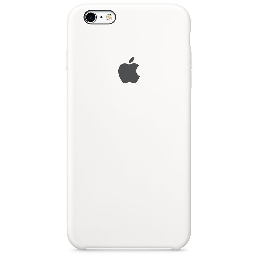 Чехол (клип-кейс) APPLE MKXK2ZM/A, для Apple iPhone 6S Plus, белый