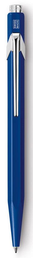 Ручка шариковая Carandache Office CLASSIC (849.150_MTLGB) корпус:Sapphire Blue M синие чернила подар