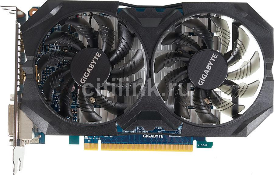 Видеокарта GIGABYTE GeForce GTX 750Ti,  GV-N75TWF2OC-4GI,  4Гб, GDDR5, OC,  Ret