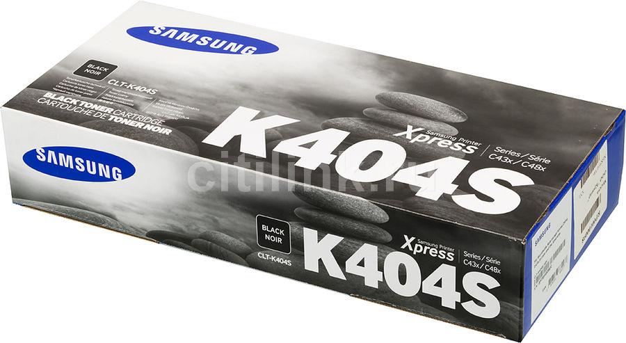 Картридж SAMSUNG CLT-K404S/XEV черный