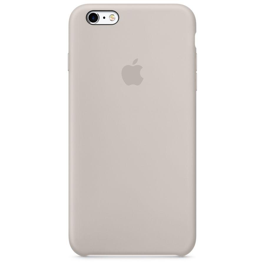 Чехол (клип-кейс) APPLE MKY42ZM/A, для Apple iPhone 6S, бежевый