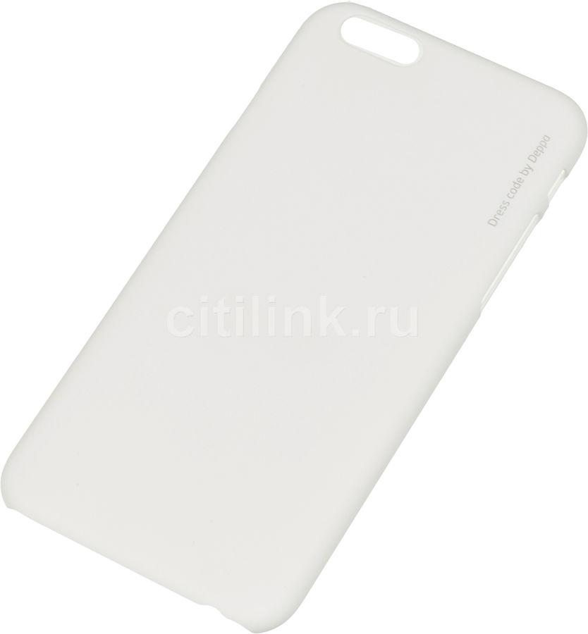 Чехол (клип-кейс) DEPPA Air Case, для Apple iPhone 6, белый [83115]