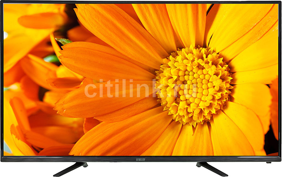 "LED телевизор MYSTERY MTV-4330LT2  ""R"", 43"", FULL HD (1080p),  черный"
