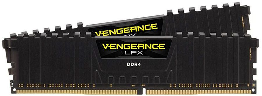 Модуль памяти CORSAIR Vengeance LPX CMK32GX4M2A2666C16 DDR4 -  2x 16Гб 2666, DIMM,  Ret