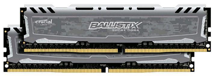 Модуль памяти CRUCIAL Ballistix Sport LT BLS4C8G4D240FSB DDR4 -  4x 8Гб 2400, DIMM,  Ret
