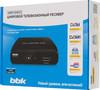 Ресивер DVB-T2 BBK SMP016HDT2,  черный вид 7