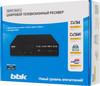 Ресивер DVB-T2 BBK SMP019HDT2,  черный вид 7