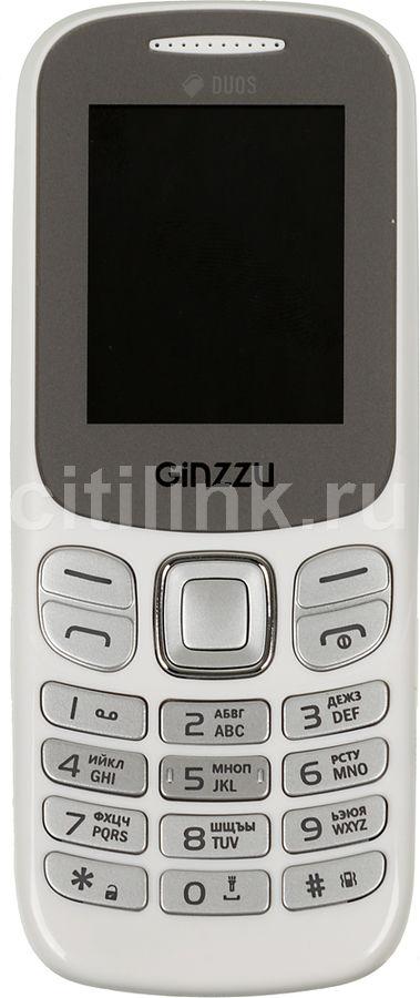 Мобильный телефон GINZZU M103 DUAL mini  белый