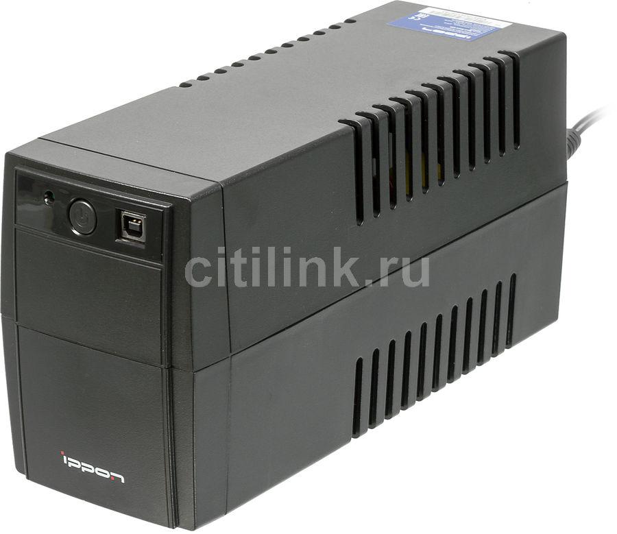 Источник бесперебойного питания IPPON Back Basic 650 купить по цене 2490 рублей в интернет-магазине СИТИЛИНК