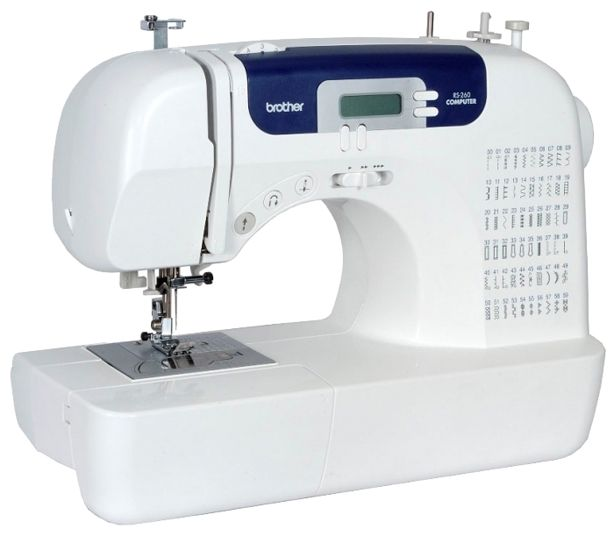 Швейная машина BROTHER RS260 белый