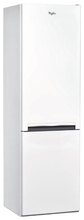 Холодильник WHIRLPOOL BSNF 8101 W,  двухкамерный,  белый