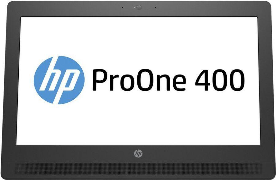 Моноблок HP 400 G2, Intel Core i5 6500T, 4Гб, 500Гб, Intel HD Graphics 530, DVD-RW, Windows 7 Professional, черный и серый [t4r06ea]