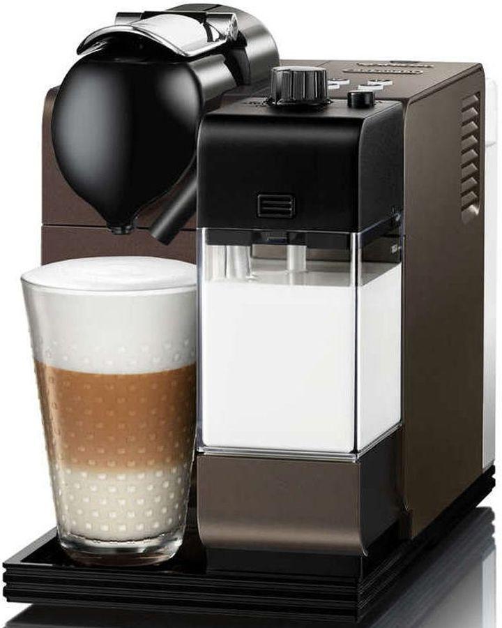 Капсульная кофеварка DELONGHI Nespresso EN 520.DB, 1300Вт, цвет: темно-коричневый