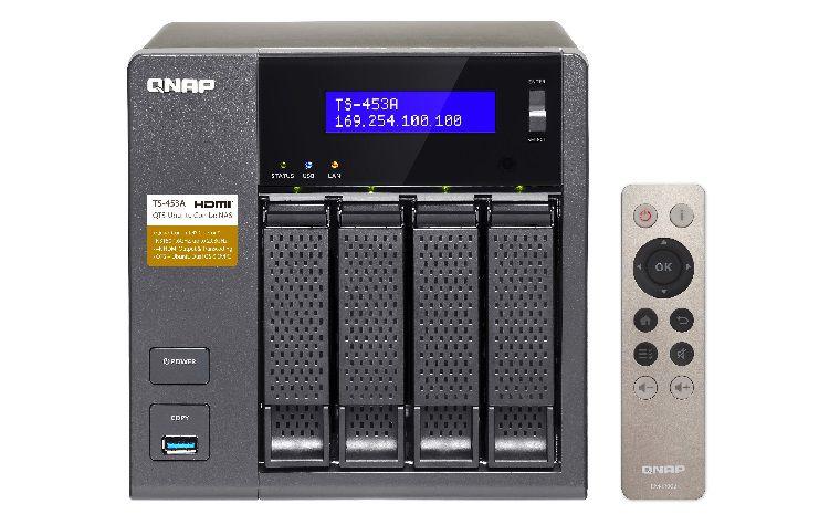 Сетевое хранилище QNAP TS-453A-4G,  без дисков