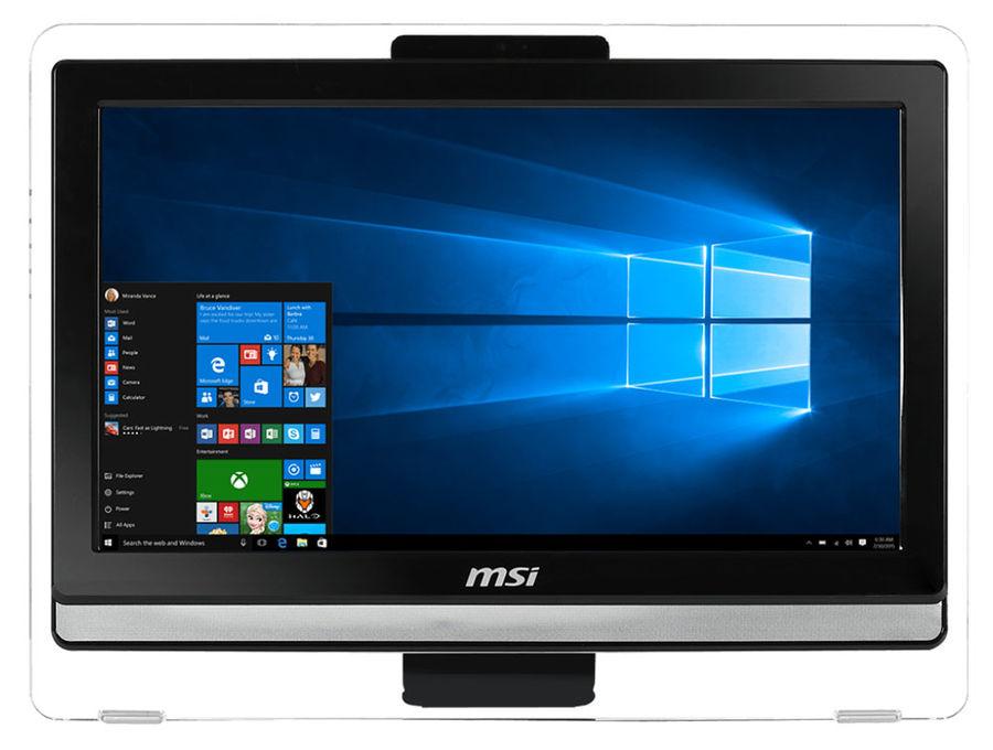 Моноблок MSI Pro 20ET 4BW-012RU, Intel Pentium N3700, 4Гб, 500Гб, Intel HD Graphics, DVD-RW, Free DOS, черный [9s6-aa8b11-012]