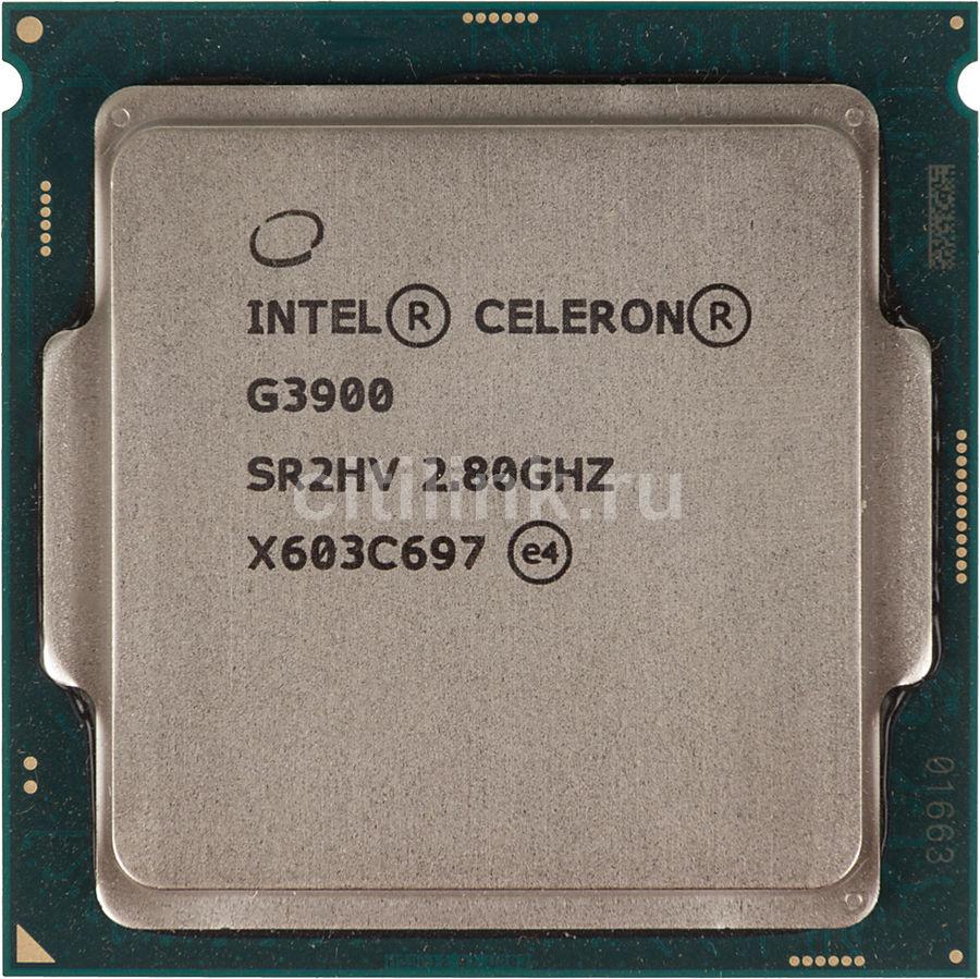 Процессор INTEL Celeron G3900, LGA 1151 * OEM [cm8066201928610s r2hv]