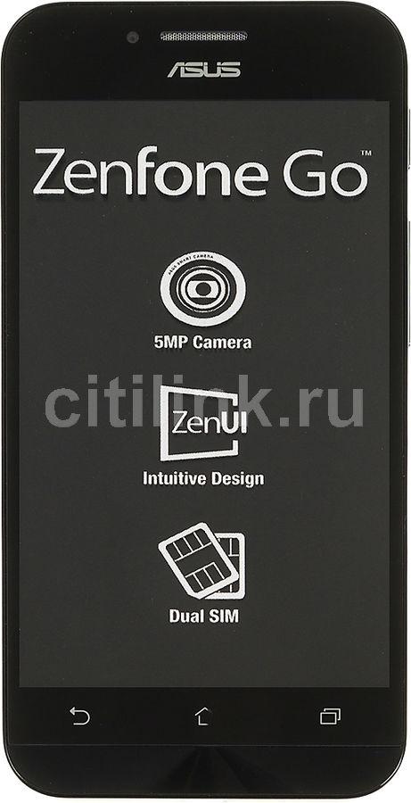 Смартфон ASUS Zenfone Go 8Gb,  ZC451TG,  черный