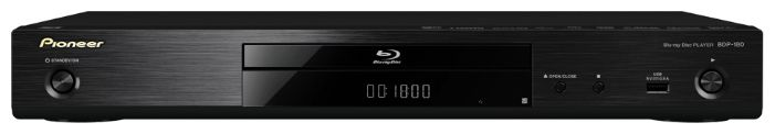 Плеер Blu-ray PIONEER BDP-180, черный
